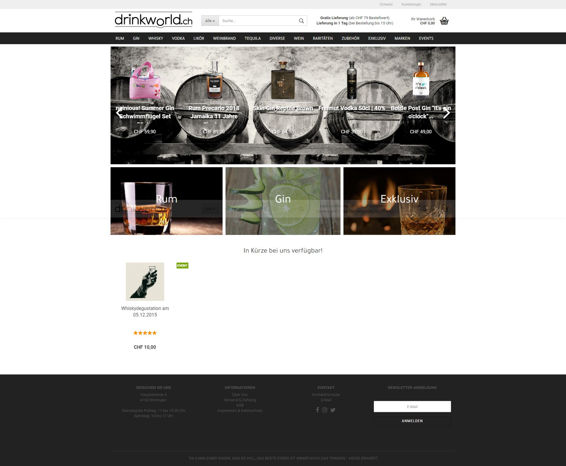 Website Referenz Spirituosenhandel small