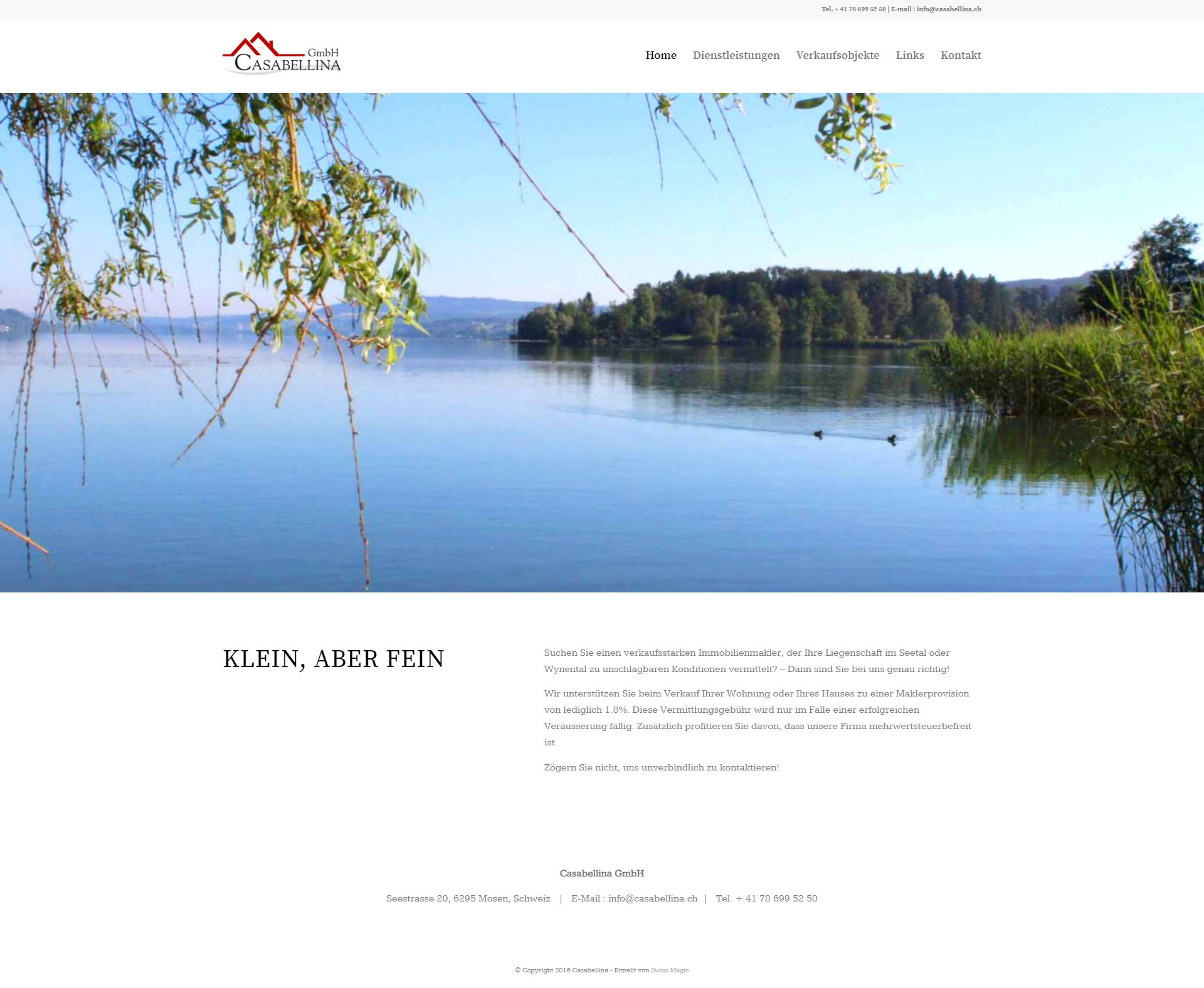 Webseite Portfolio Immobilien small