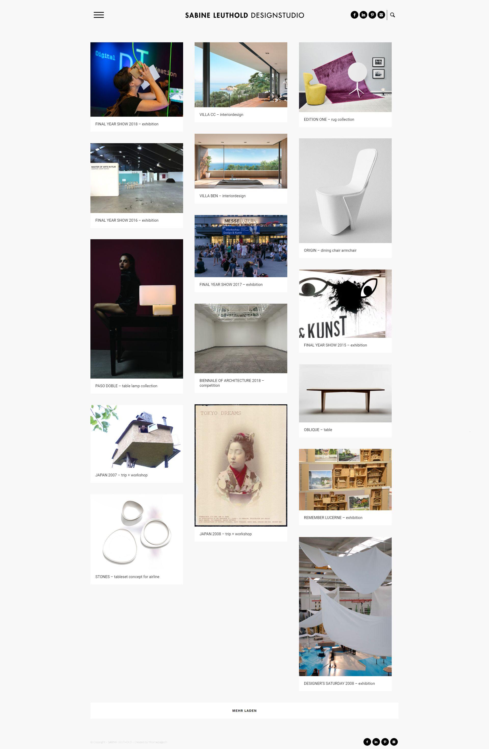Homepage Referenz Produktdesignerin