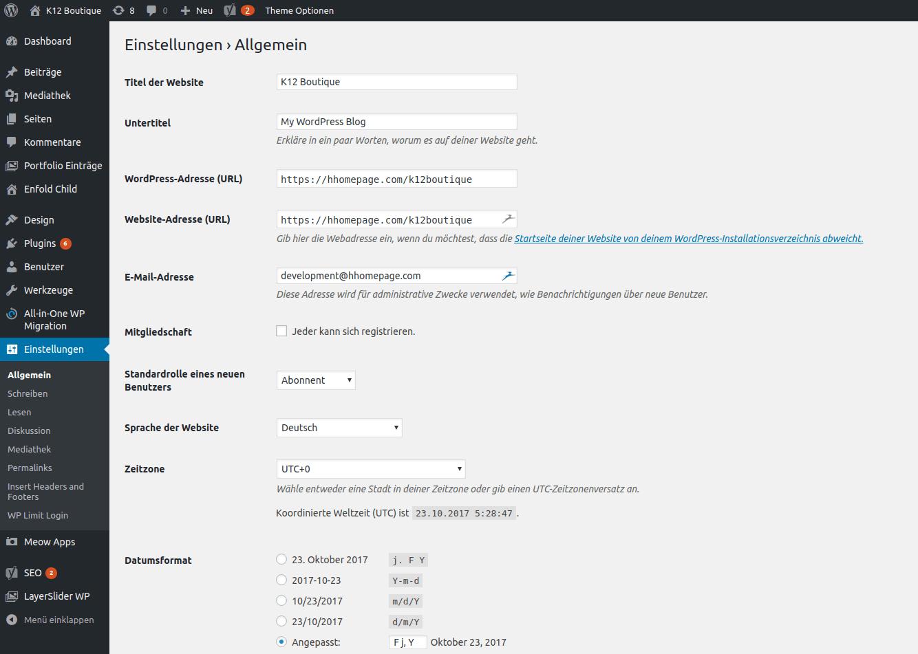 Eigene Webseite machen lassen von hhomepage.ch