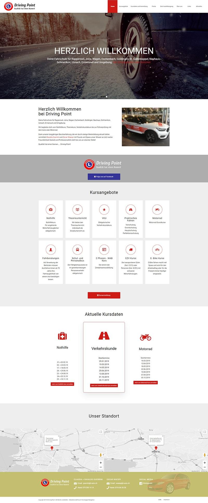 Homepage Referenz Fahrschulenservice