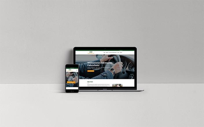 Webseiten-Projekt Fahrschule