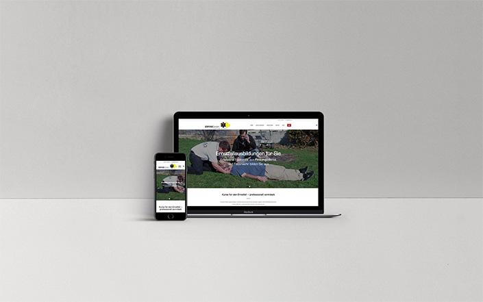 Webseiten-Projekt Ernstfallausbildungen